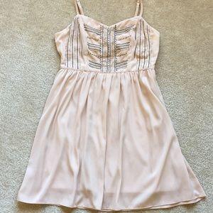 Silky Beaded Dress
